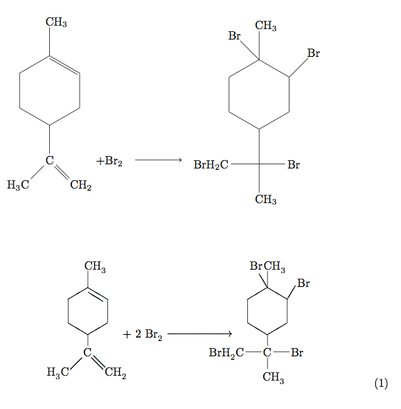 Oben ChemFig unten XymTeX
